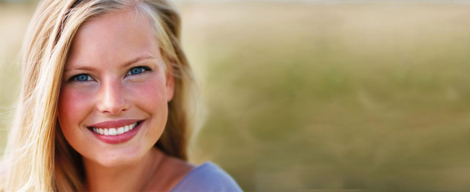 Cosmetic Dentistry Raleigh Pretty, Young, Blonde Girl Smiling