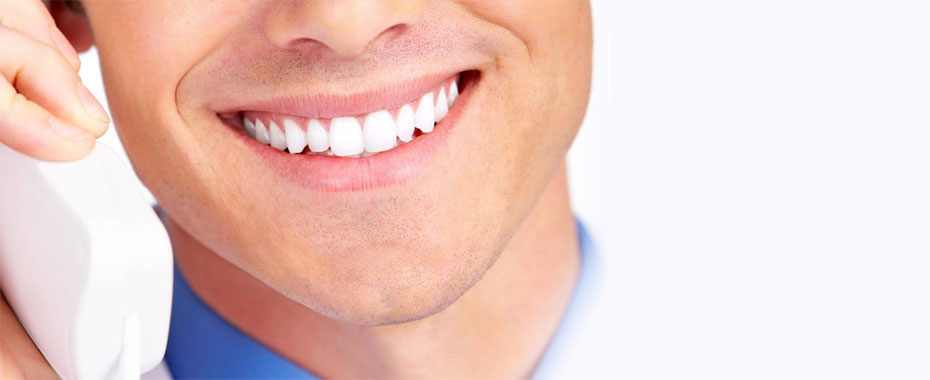 Periodontics Raleigh Close-up of Man Smiling