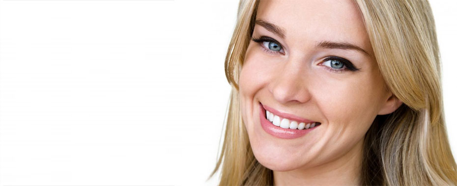 Porcelain Veneers Raleigh Close-up of Smiling, Blonde Woman